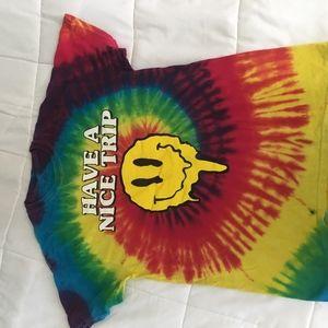Hippie tie dye T- shirt